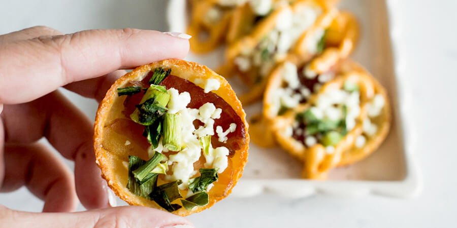 Feta and Bacon Bites
