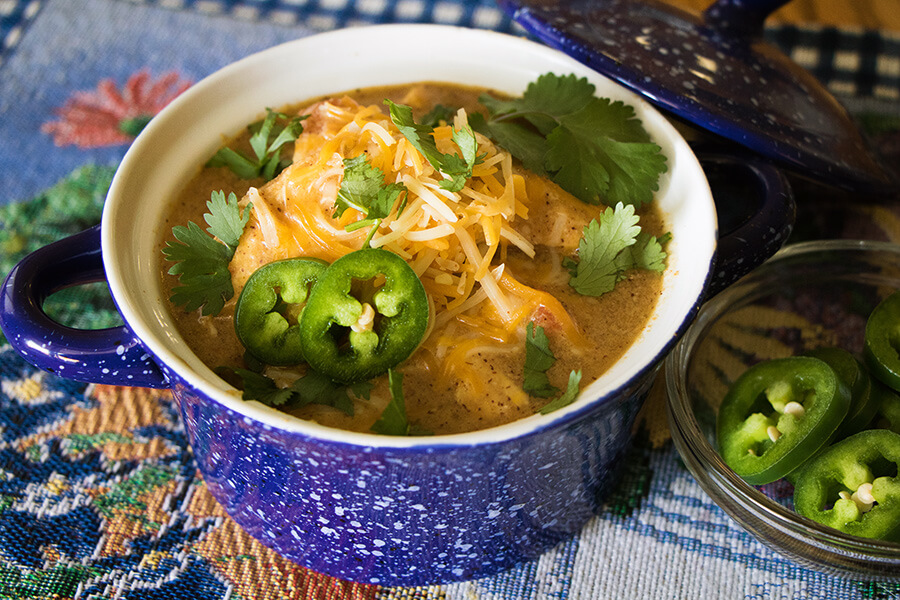 Instant Pot King Ranch Chicken Soup